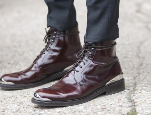Pantalon negru si pantof maro?