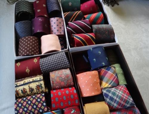 2 ponturi pentru o viata lunga a cravatelor
