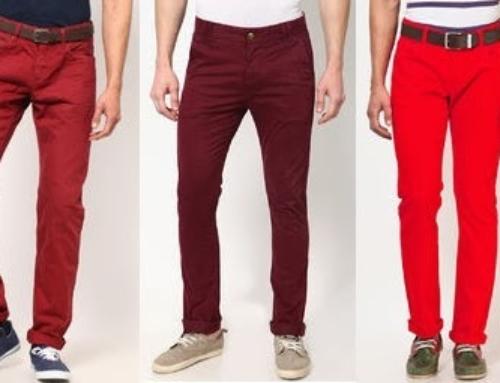 Indreptar pentru pantalonii colorati